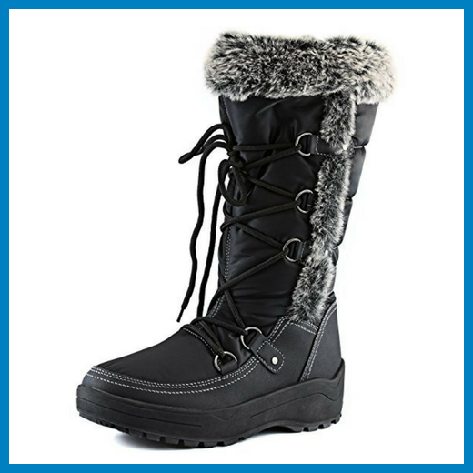 Women's DailyShoes Eskimo Snow Boots