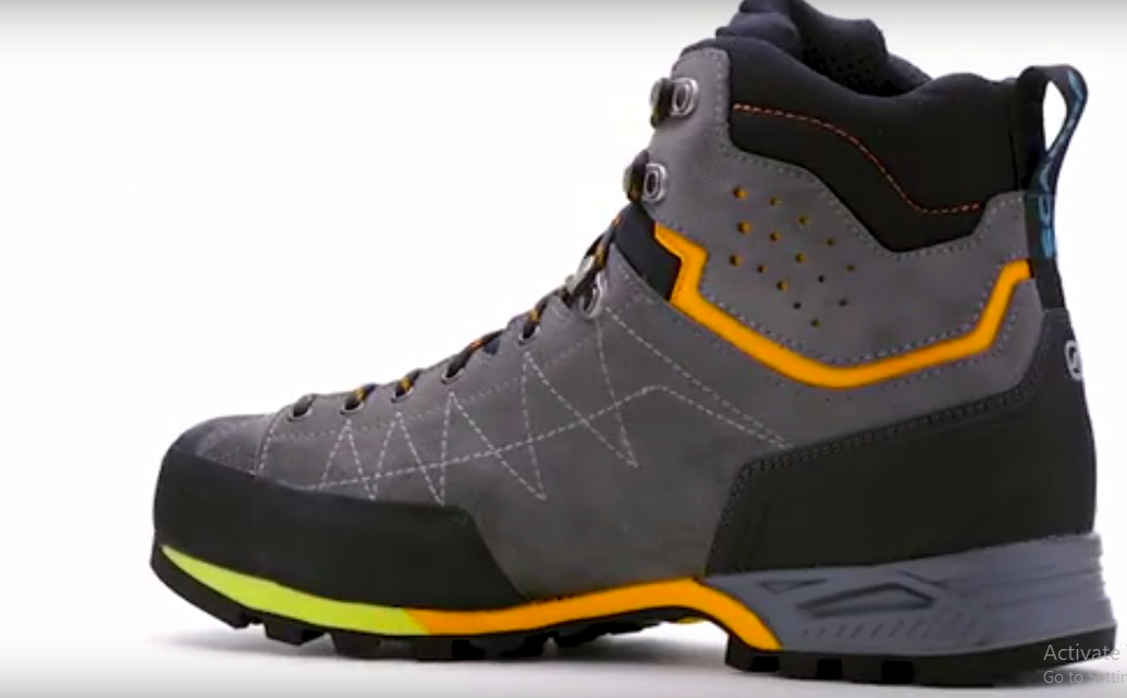 Comfortable hiking boots