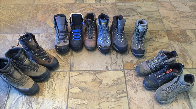 Work boots vs. hiking boots