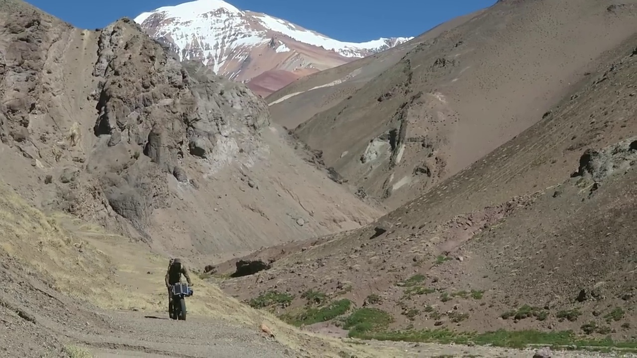 a lightweight, multi-day bike tour bikepacking